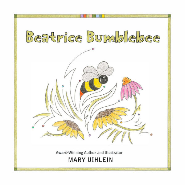 Beatrice Bumblebee Book Cover Graphic